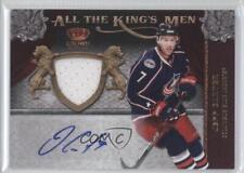 2011 Panini Crown Royale #38 Jeff Carter Columbus Blue Jackets Auto Hockey Card