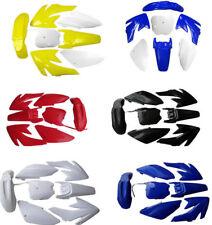 Complete Body Plastics Fenders Kits For Honda CRF70 XR70 Chinese Pit/Dirt Bike