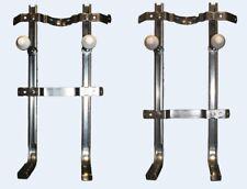 Staffe sanitari sospesi universali per vaso e bidet in acciaio