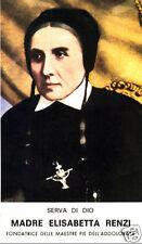 SANTINO HOLY CARD SANTA ELISABETTA RENZI