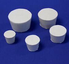 Gummistopfen Konisch beige von Kautschuk (Gummi) verschiedene Größen #6 bis #14