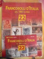 FRANCOBOLLI D'ITALIA DAL 1861 A OGGI - FASCICOLO N° 22
