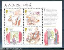 Great Britain Roald Dahl Prestige Souvenir Sheet With Four Stamps