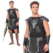 Adult Roman Spartan Costume Male Centurion Gladiator Warrior Fancy Dress M-L