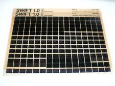 Microfich Ersatzteilkatalog Suzuki Swift 1.0 GA / GL / GL Stand 05/1987