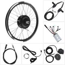 24/36/48V 250/350W Motor LED Display 20'' 26'' 700C Wheel E-bike Conversion Kits