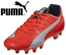 Puma EvoSpeed 3.4 LTH FG Football Soccer Boots Lava Blast / White/ Total Eclipse