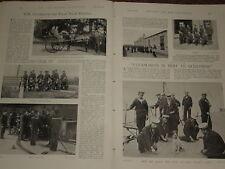 1898 ARTICLE HM COASTGUARD NAVY RESERVE BREECHES BUOY
