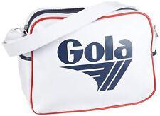 Gola Redford White Navy Red Unisex Messenger Shoulder Bag