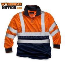 Standsafe HV033 HIGH VISIBILITY 2 TONE POLO LONG SLEEVE Orange