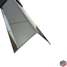 Eckschutz Edelstahl 3-fach gekante Kantenschutz Winkel VA  Spiegel Oberfläche