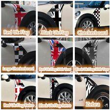 Car fender Side Scuttles Trim Decor Decal Sticker For Mini Cooper R55 R56
