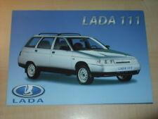 23516) Lada 111 France Prospekt 199?