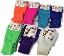 Girls Lurex Glitter Leg Warmer Girls School Dance Wear Shiny Lurex Leg warmers