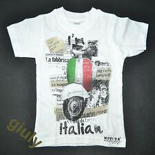 T-SHIRT ITALIA VESPA 0/8 anni maglietta neonato bimbo bambino IDEA REGALO raduno