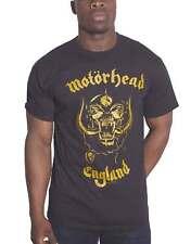 Motorhead T Shirt Lemmy Firepower Flyer band Logo new Official Mens Black