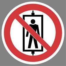 Personenbeförderung verboten Aufkleber Sticker Hinweis Verbotsschild