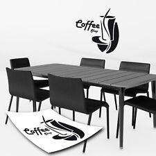 Coffee Shop Kaffe Kaffeeaufkleber Küche Esszimmer Wandtattoo