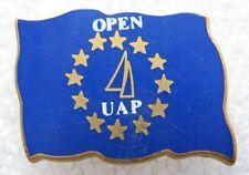 Pin's OPEN UAP Drapeaux Europeen Starpin's Bateau Voilier #B3