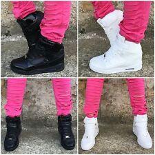NEW Style Highcut Sportschuhe / Sneakers LACK