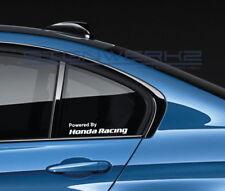 Powered By Honda Racing Decal Sticker logo Civic Type R Accord Integra Pair