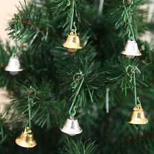 10pcs Small Bells Christmas Xmas Wedding Decoration Beads Bell Shape Crafts