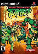Teenage Mutant Ninja Turtles (Sony PlayStation 2, 2003) DISC ONLY SCRATCH FREE