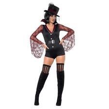 Ladies Fever Vampire Costume Fancy Dress Costume