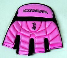 Kookaburra Impact Pink Blue Hockey Glove Left Hand Medium Large Protection LH