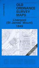 MAPPA di Liverpool (St James'S mount) 1849