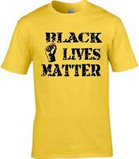 Negro Vive Matter Protest Camiseta de Tendencia Política
