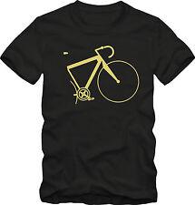 Divertente Regalo Bicicletta Bici Ciclismo Su Strada T-SHIRT | Unisex di Qualità Premium