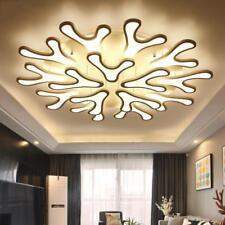 Modern LED Deer Antler Acrylic Ceiling Lamp Pendant Lighting Bedroom Living Room