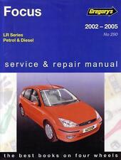 GREGORYS WORKSHOP REPAIR MANUAL FORD FOCUS LR 2002-2005