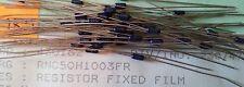 100pcs Vishay RNC50H1003FR 100K Ohm 1% 1/10W Military Spec Metal Film Resistors