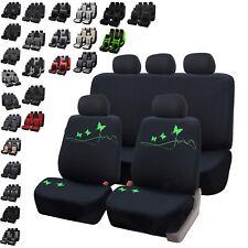 Komplettset maßgefertigte Sitzbezüge Schonbezüge schwarz für CITROEN C1