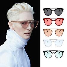 2018 Double Bridge Tinted Lens Designer Celebrity Retro Luxury Women Sunglasses