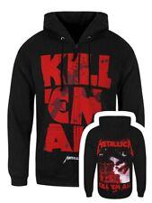 Metallica Hoodie Kill Em All Mutated Zipped Men's Black