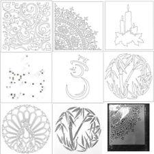 Animals Plastic Stencil Scrapbooking Album Drawing Sheet Template Mold Handcraft