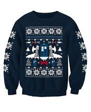 Doctor Who Angel TV Inspired Christmas Sweatshirt Jumper Adults