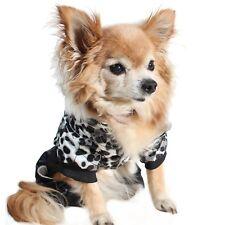 Hunde Jacke Mantel Winter Weste Hundebekleidung Leoparden Look NEU