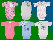 Baby Unterwäsche Body Einteiler Anzug Gr. 62-80 Modell wählbar NEU