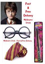 Wizards Harry Potter Tie Wand Glasses For Fancy Dress School Uniform Book Week