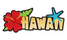 Hawaii Car Vinyl Sticker - SELECT SIZE
