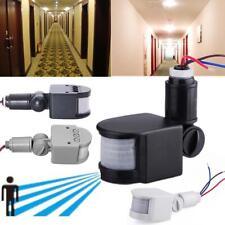 12M Security PIR Infrared Motion Sensor Detector Wall LED Lights Outdoor RF CB