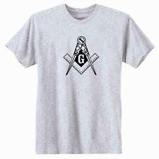 Masonic Compass T-Shirt.  Freemason Illuminati