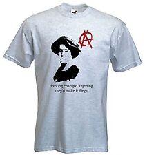 Emma Goldman T-Shirt Anarchist Anarchism Punk Sz S-XXXL