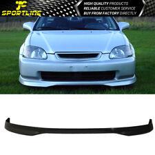 Fits 96-98 Honda Civic 2Dr 3Dr 4Dr TR Polypropylene Front Bumper Lip Spoiler