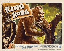 REPRO AFFICHE CINEMA KING KONG 1933 GORILLE FAY WRAY  SUR PAPIER 310 OU 190 GRS