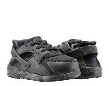 Nike Air Huarache Run (TD) Black/Black Toddler Kids Running Shoes 704950-016